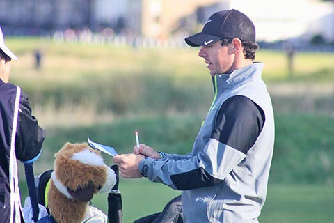 WORLD-CLASS GOLF – Rory McIllroy at the Dunhill, Old Course