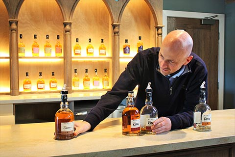 DRINK A LOCAL TIPPLE - Whisky tasting, Kingsbarns Distillery