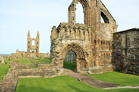 SIGHTSEEING - Cathedral, St Andrews