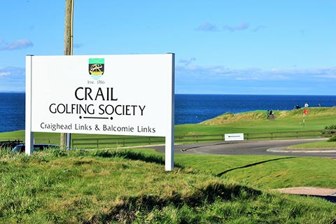 WORLD-CLASS GOLF – 2 courses at Crail Golfing Society