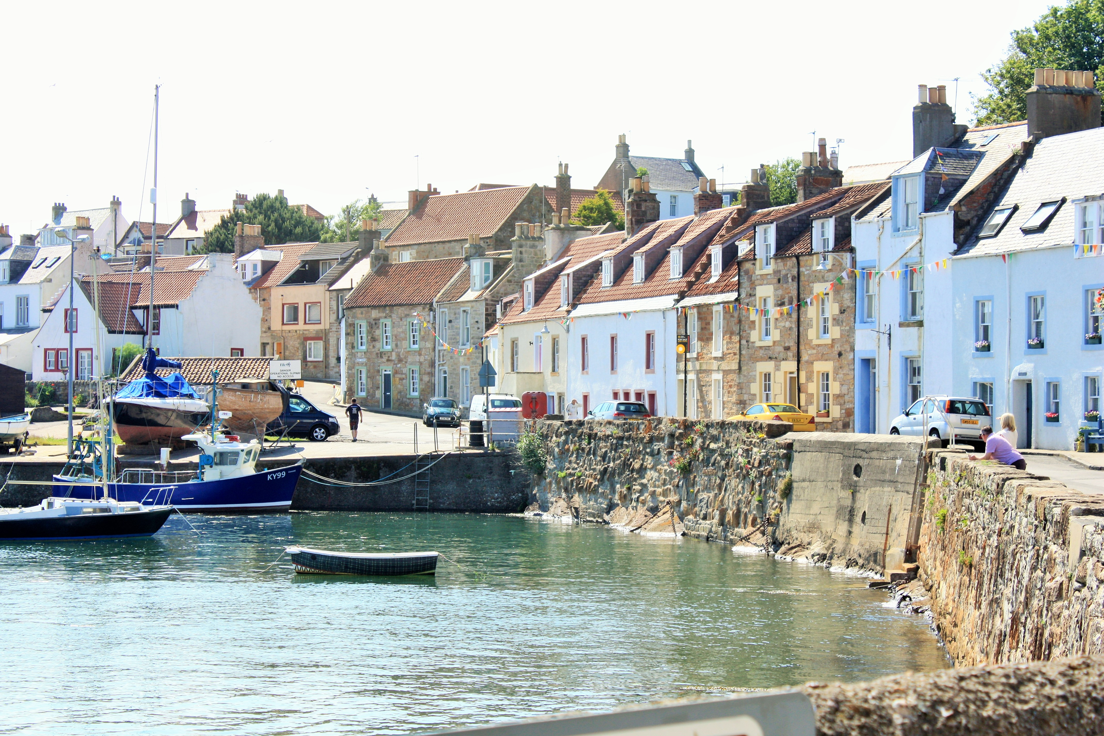 QUAINT FISHING VILLAGES - Beautiful St Monans