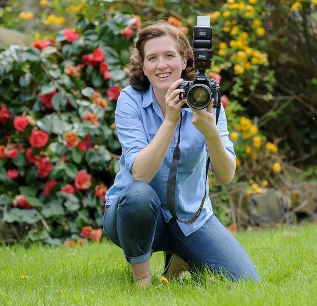 Helen Pugh in action