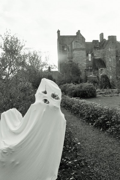Supernatural sights in the Kellie Castle Gardens