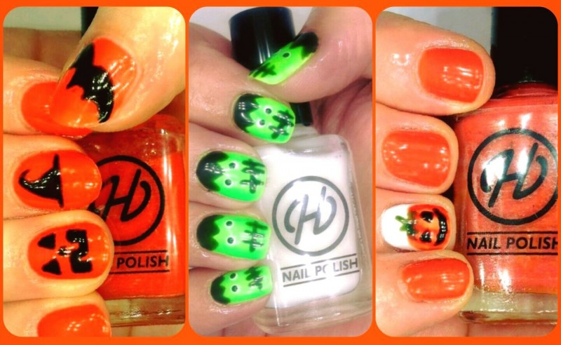 Hepburns Nail Lounge does Halloween