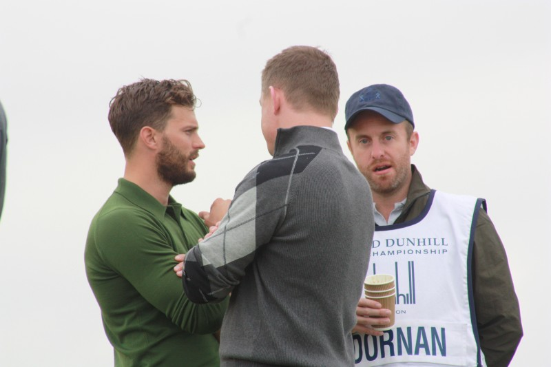Jamie Dornan at the Dunhill Links 2015